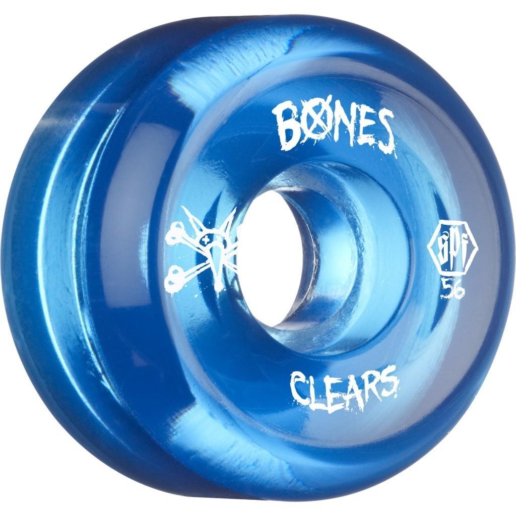 Колеса для скейтборда BONES SKATEPARK CLEAR