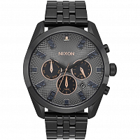 Nixon BULLET CHRONO Crystal Black Crystal/Rose Gold