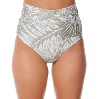 Rusty AMAZON HIGH WAISTED BIKINI PANT SEA FOAM
