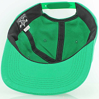 THRASHER FLAME LOGO STRUCTURED SNAPBACK GREEN
