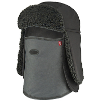 Airhole TRAPPER HAT Charcoal