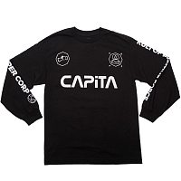 Capita KULT LONG SLEEVE T BLACK