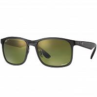 RAY BAN RB4264 SHINY GREY/GREEN POLAR MIRROR GOLD