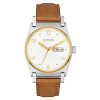 Nixon JANE LEATHER SILVER / GOLD / WHITE