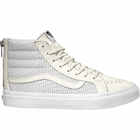Vans SK8-HI SLIM ZIP (Perf Leather) true white