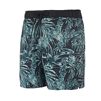 Mystic COAST BOARDSHORT GREEN ALLOVER