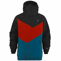 MAJESTY SHADOW SOFTSHELL BLACK/RED/BLUE