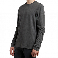 Element BASIC CREW LS CHARCOAL HEATHE