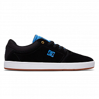 DC CRISIS M SHOE BLACK/BLACK/BLUE