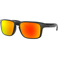 Oakley HOLBROOK POLISHED BLACK/PRIZM RUBY POLARIZED