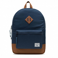 Herschel HERITAGE YOUTH Navy/Saddle brown