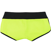 Glidesoul Bikini shorts 0,5 mm Black/ Lemon