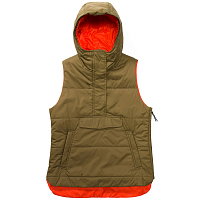 Holden LOVE SIDE ZIP VEST Olive