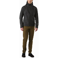 ARCTERYX CORDOVA JACKET MEN'S BLACK HEATHER