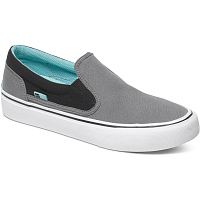 DC TRASE SLIP-ON T J SHOE Grey/Black