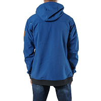FACTION VOLTA TECH HOODIE COBALT BLUE