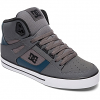 DC SPARTAN HIGH WC M SHOE GREY/GREEN