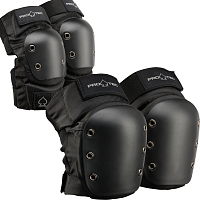 Pro-Tec STREET KNEE/ELBOW PAD SET BLACK