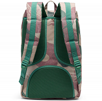 Herschel Little America Mid-Volume Brushstroke Camo/Tan Synthetic Leather
