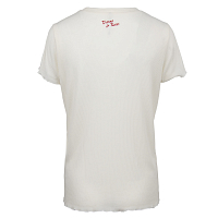 RVCA THORNS AND ROSES ANTIQUE WHITE