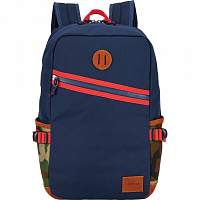 Nixon SCOUT BACKPACK II NAVY / WOODLAND CAMO