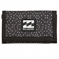 Billabong ATOM WALLET BLACK/WHITE