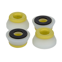 Bones Medium Set YELLOW/WHITE