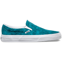 Vans Classic Slip-On (Marble Suede) blue/true white