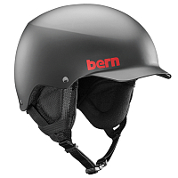 Bern TEAM BAKER MEN'S Matte Black/Black Liner