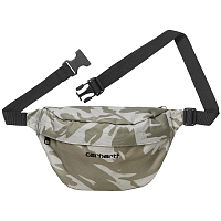 Carhartt PAYTON HIP BAG CAMO BRUSH, SANDSHELL / BLACK
