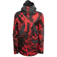 SESSIONS WIRE JACKET TYE DYE RED