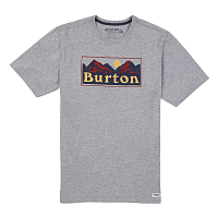 Burton MB RALLEYE SS GRAY HEATHER