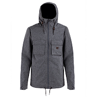 Billabong MATT JACKET BLACK HEATHER