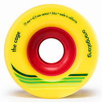 Orangatang THE CAGE WHEEL YELLOW