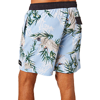 Rusty SILK ROAD ELASTIC BOARDSHORT Blue Fog