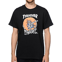 THRASHER SKATE OUTLAW BLACK