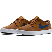 Nike SB PORTMORE II SOLAR LT BRITISH TAN/BLUE VOID-BLACK
