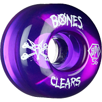 Bones SKATEPARK CLEAR PURPLE
