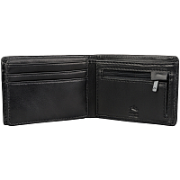 Rusty BUST LEATHER WALLET blk