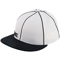 Ronix EL PRESIDENTE FITTED HAT THROWBACK WHITE