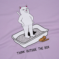 RIPNDIP THINK OUTSIDE TEE LAVENDER