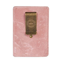 Herschel RAVEN LEATHER RFID Ash Rose