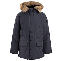 Carhartt WIP ANCHORAGE PARKA BLACKSMITH / BLACK