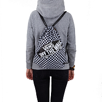 Vans BENCHED BAG BLACK-WHITE CHECKERBOARD