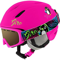 Giro LAUNCH MATTE BRIGHT PINK PENGUIN