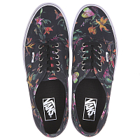 Vans Authentic (Black Bloom) black/true white