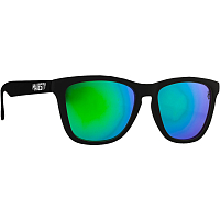 Majesty M+ MATT BLACK WITH GREEN MIRROR LENSES