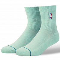Stance NBA LOGOMAN QTR LIGHT BLUE