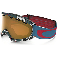 Oakley O2 XS FW17 SHADY TREES BLUE RED/PERSIMMON
