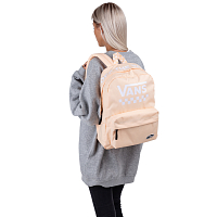 Vans SPORTY REALM BACKPACK BLEACHED APRICOT TOO MUCH FUN